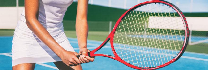 Raquettes pour le tennis